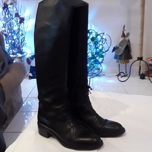 Joan & David tall leather boots, size 9
